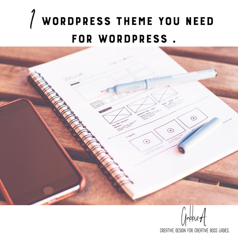 1 theme you need to look professional